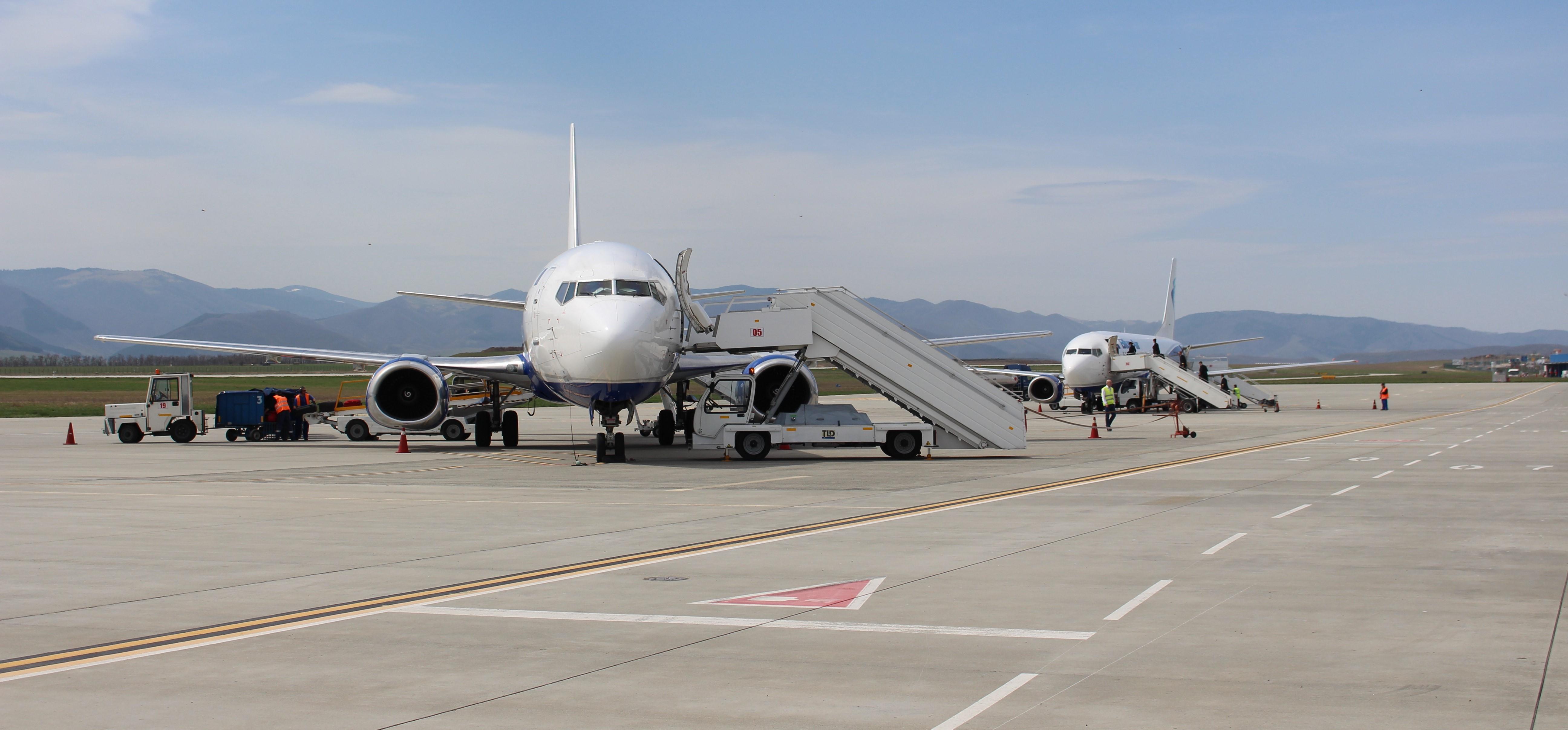 Aeroportul Internațional Sibiu. Zboruri directe din Sibiu | 5184 x 2417 jpeg 1370kB